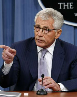 IS is 'an imminent threat to every interest we have, whether it's in Iraq or anywhere else,' Defense Secretary Chuck Hagel told reporters at the Pentagon.