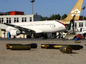Nearly a dozen Libyan airliners are missing, stoking fears of a fresh 9/11-style attack.