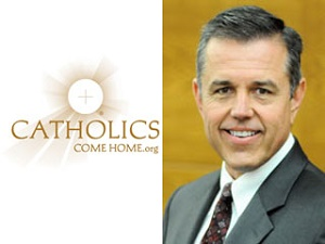 Tom Peterson, the founder and CEO of Catholics Come Home