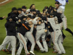 Image of The Giants just won their eight World Series with a 3-2 Game 7 win over the Kansas City Royals.