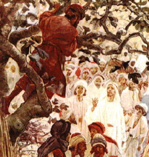 Zaccheus climbed that tree in order to see the Lord, not to be seen by Jesus. He did not care what the crowd thought of a grown man climbing a tree! He went after the encounter with Jesus Christ with a childlike simplicity and a reckless abandon. Do we?