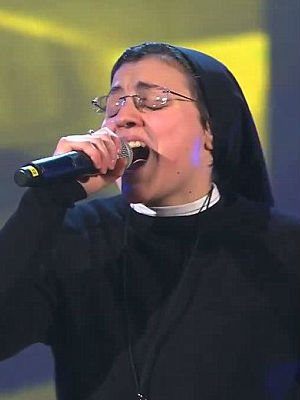 Sister Cristina is slated to perform at the Vatican's Christmas concert later this week, along with American punk singer Patti Smith.