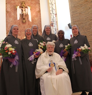 SOLT Sisters on the day of their Perpetual Profession