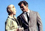 Image of Rod Taylor is probably best known as a masculine, if mother-dominated man pursued by playgirl Tippi Hedren prior to an avian apocalypse in director Alfred Hitchcock's