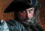 Image of Blackbeard the Pirate was played by Ian McShane in