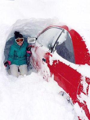 Snow Fun Eastern Canada Inundated By Heavy Snowfall