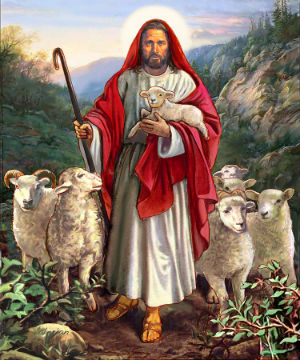 Fr. Joachim on Jesus as the Good Shepherd as a sign of His divinity, how His sheep know Him and He knows them, and there is nothing they shall want.