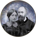 Image of Pictured: Louis and Zelie Martin, the Mom and Dad of St Therese