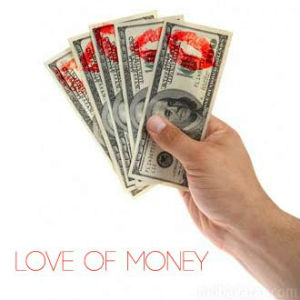 Our love of God must be greater than our love for money.