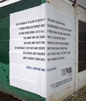 Viral advertisement on homeless awareness wows viewers with two-sided story
