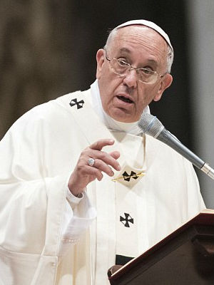 Pope Francis calls pay difference between men, women 'pure scandal'