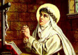 Image of Father, raise up women like Catherine of Siena for this new missionary age of your Church. Women who are so in love with you, and so conformed to the Image of your Son, they can do for your Church in this hour what she did in her own.
