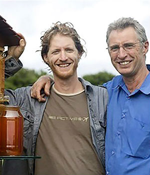 Australian father-and-son team raises $10 MILLION for beehive project