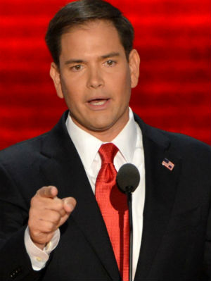 Rubio steps into spotlight for 2016 run