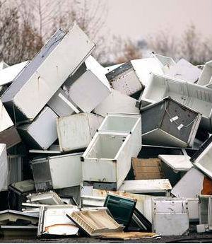 World's discarded electronic junk building up into massive toxic dump
