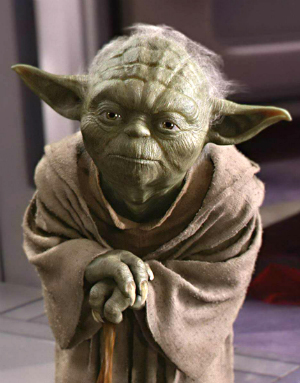 Could Yoda be a Biblical character? Medieval manuscript features a painted figure resembling the Star Wars hero