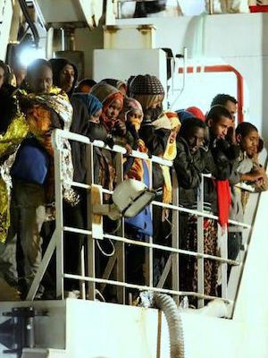 Muslim migrants threw Nigerian and Ghana Christians overboard, police say
