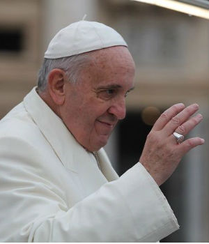Pope Francis: Children 'can never be considered a mistake'