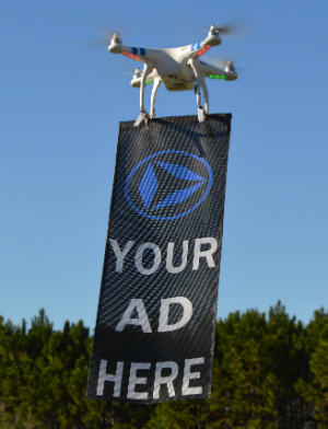 From battle weapons to photographers, drones now cleverly used as advertisement model