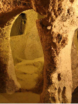 Amazing ancient underground city uncovered in Turkey