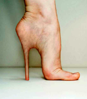 Killer high heels cause long lasting body damage