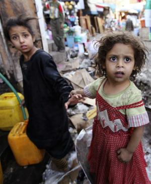 Dozens of children tragically killed in humanitarian collapse in Yemen