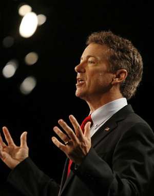 'We have come to take our country back!' Sen. Rand Paul officially jumps into the 2016 presidential race