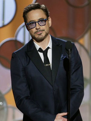 Robert Downey Jr. STUNS awards show: 'Dream big, work hard, keep your nose clean, be of service'