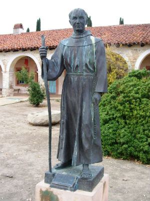 Apostle of California, Father Junipero Serra, to be canonized by Pope during U.S. visit