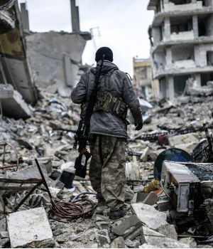 Kobane in apocalyptic rubble after Islamic State dislodged (PHOTOS)