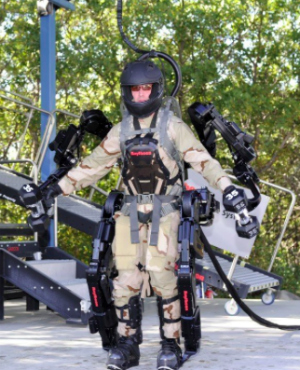 Putin's super soldier program? Russian military to equip army with mind controlled exoskeletons