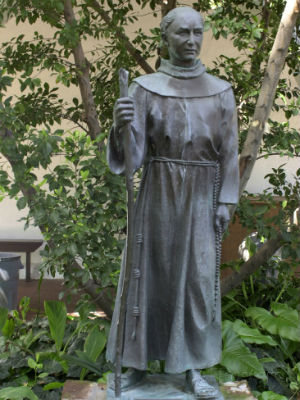 Father Junipero Serra praised by Pope Francis as 'one of the founding fathers of the United States'