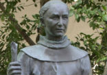 Image of In California, Father Junipero Serra has been criticized by Native American activists for his role in a Spanish colonial system that mistreated and displaced indigenous people.