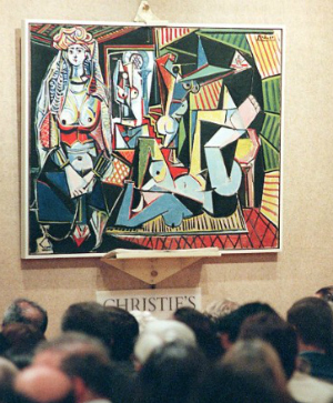 Pablo Picasso's 'Women of Algiers' now the most expensive auctioned painting