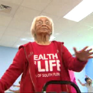 Inspiring 104-year-old woman credits family, prayer and healthy living for her long life