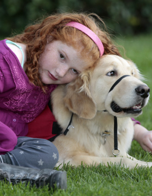 How an amazing service dog forever changed his young owner's life