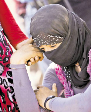 ISIS captive forced to marry attackers 20 TIMES and have her 'virginity' restored each time