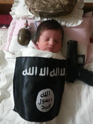 ISIS shocks with horrific images of jihadi babies