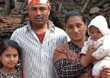 Image of Five-month-old Sonit Awal was pulled from the ruins of his family home after his heart-broken mother was forced to listen to his cries for 22 anguished hours.