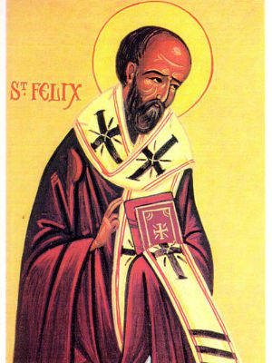 Monday, May 18 - Homily: St. Felix