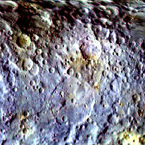 Flashing 'mystery spots' on planet Ceres now seen in greater detail