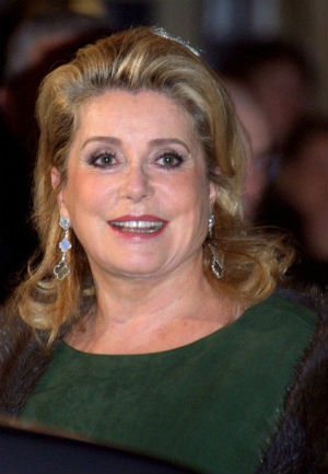 Legendary Screen Beauty Catherine Deneuve Expresses Her