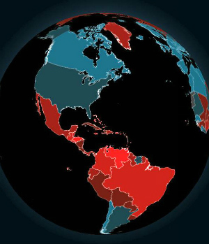How safe is your country? Interactive homicide map shows the world's most dangerous places to live