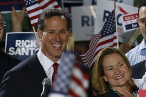 Rick Santorum Announces His Candidacy saying - It is Time to Take Back America