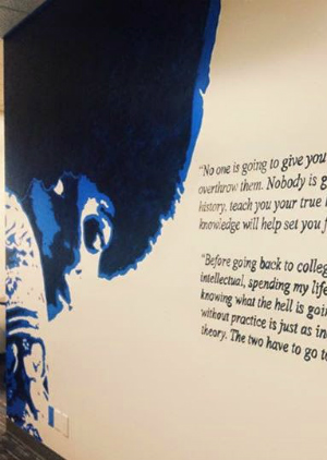 Catholic University removes insensitive mural honoring convicted killer