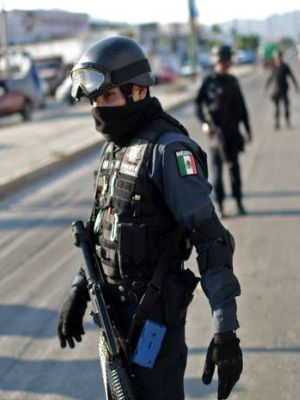 Mexican gun battle ends with 43 shot to death