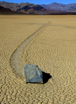 Death Valley's puzzling 'sailing stones' mystery solved