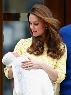 Queen Elizabeth meets royal baby Charlotte Elizabeth Diana