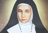 Image of Sister Marie Alphonsine Ghattas, born in Jerusalem in 1847, opened girls' schools, fought female illiteracy and co-founded the Congregation of the Sisters of the Rosary.