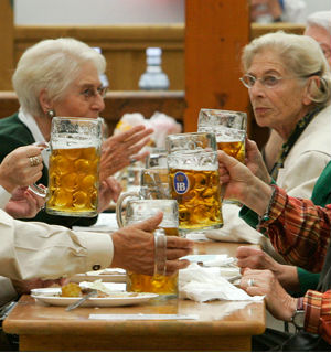 A growing elderly population in Germany is guaranteed, as life expectancy for women is expected to continue rising to 88 and for men to 84 by the middle of the century, creating a massive social burden.